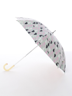 【korko(コルコ)】晴雨兼用のプリント日傘ショートタイプ【リフレクション】