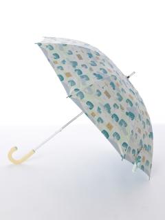 【korko(コルコ)】晴雨兼用のプリント日傘ショートタイプ【庭の森】