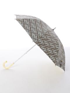 【korko(コルコ)】晴雨兼用のプリント日傘ショートタイプ【ストーンズ】