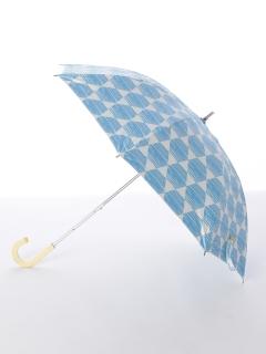【korko(コルコ)】晴雨兼用のプリント日傘ショートタイプ【ヘキサゴン】