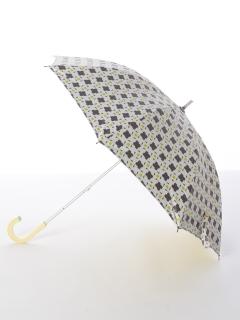 【korko(コルコ)】晴雨兼用のプリント日傘ショートタイプ【コンフェッティ】