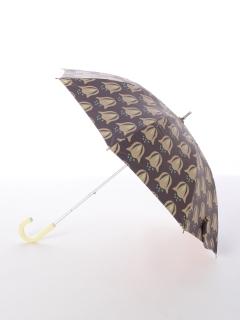 【korko(コルコ)】晴雨兼用のプリント日傘ショートタイプ【ピンクベル】