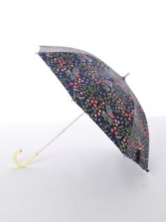 【korko(コルコ)】晴雨兼用のプリント日傘ショートタイプ【フラワリー】