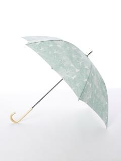 【tenoe(テノエ)】雨晴兼用手開き長傘【もりもりの森】