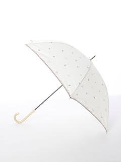 【tenoe(テノエ)】雨晴兼用手開き長傘【ぬくもり原っぱ】