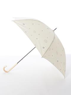 【tenoe(テノエ)】雨晴兼用手開き長傘【ふわふわの旅人】