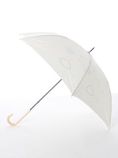 【tenoe(テノエ)】雨晴兼用手開き長傘【ことりの追いかけっこ】