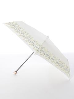 【tenoe(テノエ)】雨晴兼用折り畳み傘【ミモザのブーケ】