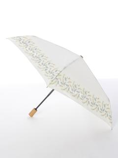 【tenoe(テノエ)】雨晴兼用自動開閉式折り畳み傘【ミモザのブーケ】