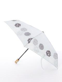 【tenoe(テノエ)】雨晴兼用自動開閉式折り畳み傘【小花のパレード】