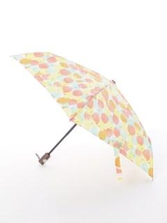 【tenoe(テノエ)】雨晴兼用自動開閉式折り畳み傘【ひとりじめアイス】