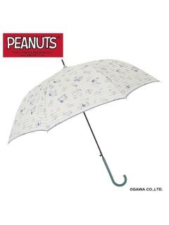 【PEANUTS】長傘スヌーピー【ラグビー】
