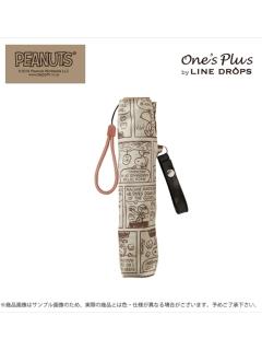 【PEANUTS】軽量キャラクター折りたたみ傘【コミック】