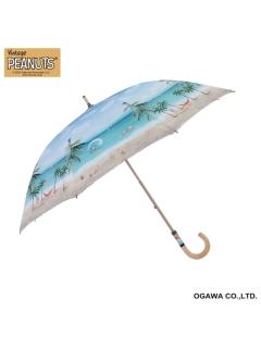 【PEANUTS】晴雨兼用日傘ショートタイプスヌーピー【サマーバケーション】