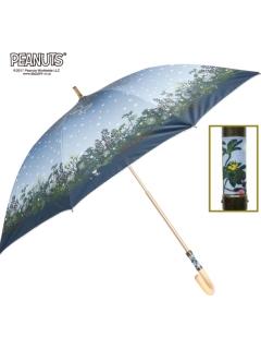 【PEANUTS】晴雨兼用日傘ショートタイプスヌーピー【イルミネーション】