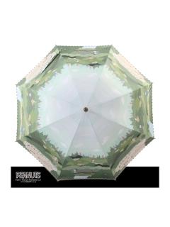 【PEANUTS】晴雨兼用日傘ショートタイプスヌーピー【ビーグルスカウト】