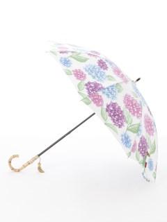 【nugoo】晴雨兼用日傘 ショート/長谷の紫陽花