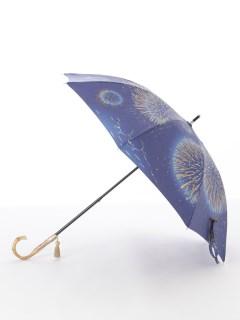 【nugoo】晴雨兼用日傘 ショート/江ノ島花火