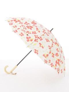 【nugoo】12本骨雨傘/椿red