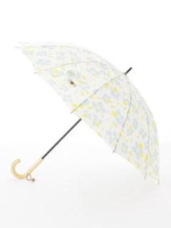【nugoo】12本骨雨傘/椿blue