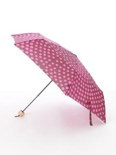 【nugoo】軽量折りたたみ傘/水玉