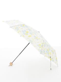 【nugoo】軽量折りたたみ傘/椿blue