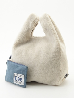 【Lee】ボアトートバッグ