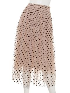 フロッキーチュールスカート