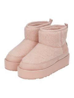 SHERPA PANELLED SHORT BOOT WITH BACK TAB