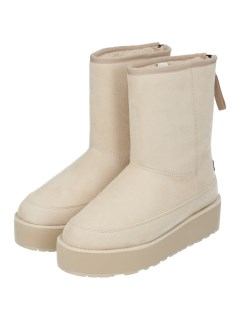 MID BOOT WITH BACK ZIP