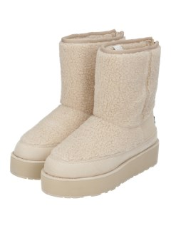 SHERPA PANELLED MID BOOT WITH BACK ZIP