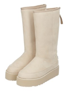TALL BOOT WITH BACK ZIP