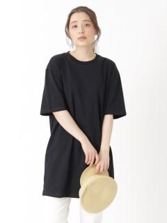 S/S OVERSIZE T-SHIRT DRESS