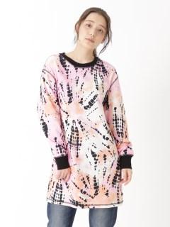 L/S OVERSIZE T-SHIRT DRESS
