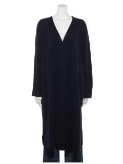 ミラノリブV襟コート