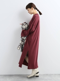【CAN PEP REY】LOOSE DRESS L/S 'PIA'CEIBA