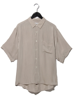 CUPRO DYED TWILL ショートスリーブシャツ