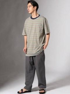 【Delicious SENDAI】Border Tシャツ