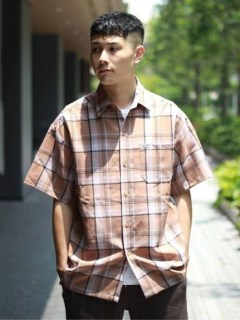 【Cal Top】COLOR BASE マドラスチェックシャツ