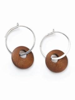 【V+J】wood hoop