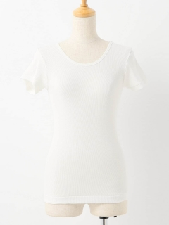 LE DENIM rib T-Shirt