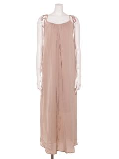 【La vie de Leory】サテン Summer Dress