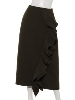 【La vie de Leory】フロントラッフルAラインスカート