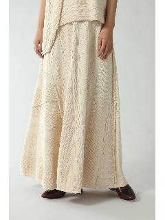 ケーブルマキシスカート