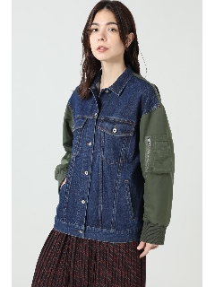 3RDデニムMA-1ジャケット