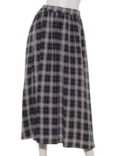 【Rew de Rew】チェックロングスカート