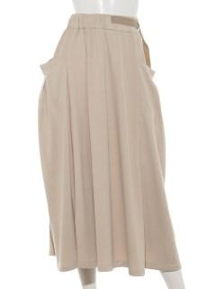 【DADA】ポケットギャザースカート
