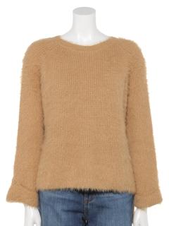 シャギーニットセーター