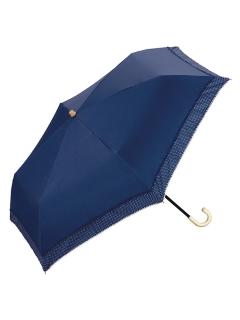 【折りたたみ傘】遮光リムドットピコレースmini