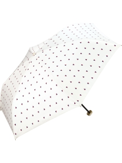 【折りたたみ傘】遮光ツインハートmini